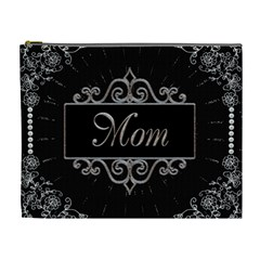 Mom & Me Xl Cosmetic Bag (back Has Photo Frame) By Lil    Cosmetic Bag (xl)   6ve24fhj6b8c   Www Artscow Com Front
