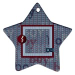Small Fry 2 sided star ornament - Star Ornament (Two Sides)