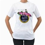 Bleeding Heart - Women s T-Shirt (White) (Two Sided)