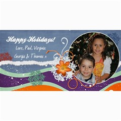 Xmas Card 2010 Ac By Virginia   4  X 8  Photo Cards   27d5tywq5bt3   Www Artscow Com 8 x4 Photo Card - 2