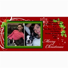Xmas Card By Tonilynn   4  X 8  Photo Cards   2cwqvkehe1ya   Www Artscow Com 8 x4  Photo Card - 1