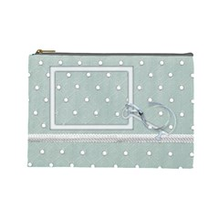 Winters Blessing Large Cosmetic Bag 1 By Lisa Minor   Cosmetic Bag (large)   2kbqtl1ztqrm   Www Artscow Com Front