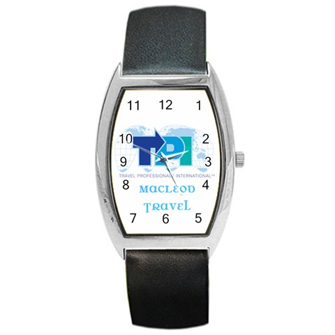 Tpi Watch For Melanie Macleod Travel By Jean Guy Demeter   Barrel Style Metal Watch   Ai150oams0zi   Www Artscow Com Front