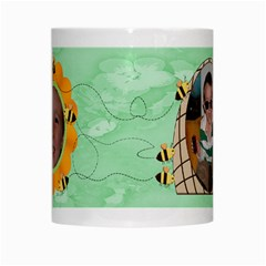 Grandma s Sweet Honey Bees Mug Green 4 By Chere s Creations   White Mug   Iifb6zjy7xo8   Www Artscow Com Center