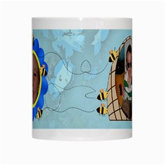 Grandma s Sweet Honey Bees Mug Blue 2 By Chere s Creations   White Mug   Xggeghlngwao   Www Artscow Com Center
