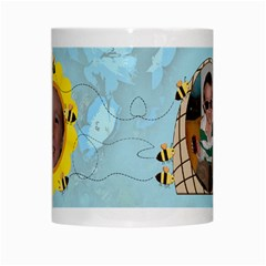 Grandma s Sweet Honey Bees Mug Blue By Chere s Creations   White Mug   Uzs69d0hjswx   Www Artscow Com Center