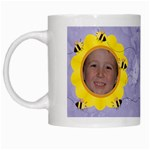 Grandma s Sweet Honey Bees Mug Purple - White Mug