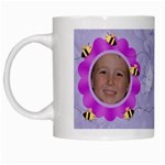 Grandma s Sweet Honey Bees Mug Purple 3 - White Mug