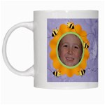 Grandma s Sweet Honey Bees Mug Purple 4 - White Mug