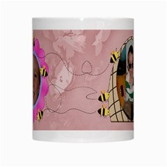 Grandma s Sweet Honey Bees Mug Peach 3 By Chere s Creations   White Mug   Nv1b7dx7jv6m   Www Artscow Com Center