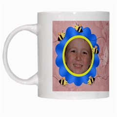 Grandma s Sweet Honey Bees Mug Peach 2 By Chere s Creations   White Mug   Tltl4nmr36tk   Www Artscow Com Left