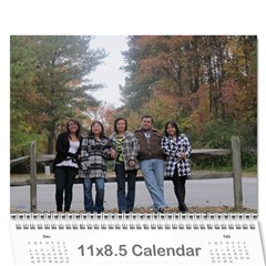 Family2010 By Vi   Wall Calendar 11  X 8 5  (12 Months)   Fc093kpaol50   Www Artscow Com Cover