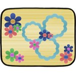 Flowers blanket - Mini Fleece Blanket