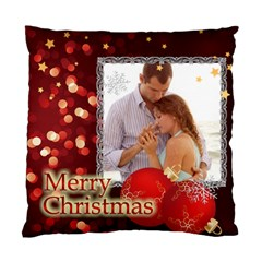 Love Christmas By Wood Johnson   Standard Cushion Case (two Sides)   V1e4qw4pnpu6   Www Artscow Com Back