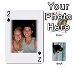 Carlie and Jaramie Playing Cards - Playing Cards 54 Designs