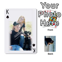 King Carlie And Jaramie Playing Cards By Doug Trimble   Playing Cards 54 Designs   X3yel3w17k9x   Www Artscow Com Front - SpadeK