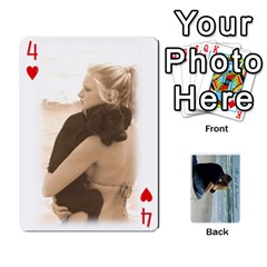 Carlie And Jaramie Playing Cards By Doug Trimble   Playing Cards 54 Designs   X3yel3w17k9x   Www Artscow Com Front - Heart4