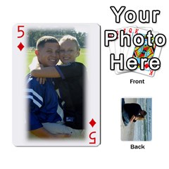 Carlie And Jaramie Playing Cards By Doug Trimble   Playing Cards 54 Designs   X3yel3w17k9x   Www Artscow Com Front - Diamond5