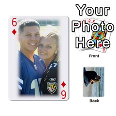 Carlie And Jaramie Playing Cards By Doug Trimble   Playing Cards 54 Designs   X3yel3w17k9x   Www Artscow Com Front - Diamond6