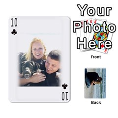 Carlie And Jaramie Playing Cards By Doug Trimble   Playing Cards 54 Designs   X3yel3w17k9x   Www Artscow Com Front - Club10