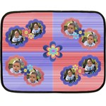 My Flowers - Double Sided Fleece Blanket (Mini)