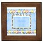 Happy birthday Baby Boy - framed tile
