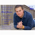 Bud Watson Graduation Announcements - 5  x 7  Photo Cards