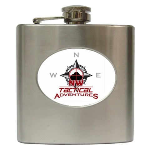Nwta Flask By James Gunn   Hip Flask (6 Oz)   W3gmsku6erl3   Www Artscow Com Front
