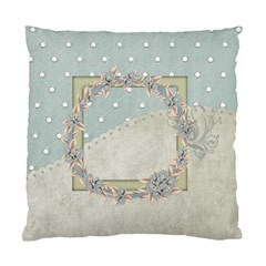 Winters Blessing 2 Sided Pillow 1 By Lisa Minor   Standard Cushion Case (two Sides)   Kme9y62e1qui   Www Artscow Com Front