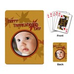 baby card - Playing Cards Single Design
