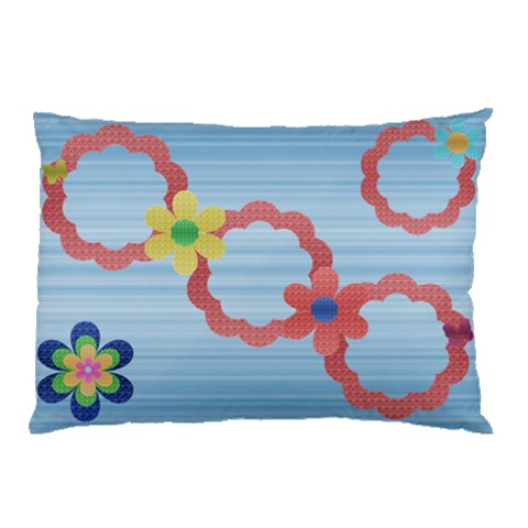 Flower Pillow 1 By Daniela   Pillow Case   Ole3sq20xoku   Www Artscow Com 26.62 x18.9 Pillow Case
