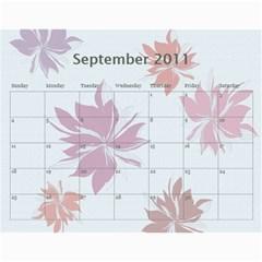 Calendar Eliza Var Finala 1 By Damaris   Wall Calendar 11  X 8 5  (12 Months)   8xlnz4rw1fu5   Www Artscow Com Sep 2011