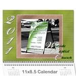 CHURCH CALENDAR - Wall Calendar 11  x 8.5  (12-Months)