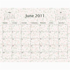 Church Calendar By Jo   Joahn   Wall Calendar 11  X 8 5  (12 Months)   M3sd97gdca9b   Www Artscow Com Jun 2011