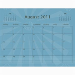 Church Calendar By Jo   Joahn   Wall Calendar 11  X 8 5  (12 Months)   M3sd97gdca9b   Www Artscow Com Aug 2011