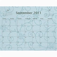 Church Calendar By Jo   Joahn   Wall Calendar 11  X 8 5  (12 Months)   M3sd97gdca9b   Www Artscow Com Sep 2011