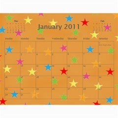 Church Calendar By Jo   Joahn   Wall Calendar 11  X 8 5  (12 Months)   M3sd97gdca9b   Www Artscow Com Jan 2011
