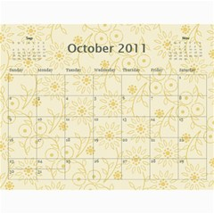Church Calendar By Jo   Joahn   Wall Calendar 11  X 8 5  (12 Months)   M3sd97gdca9b   Www Artscow Com Oct 2011