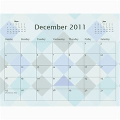 Church Calendar By Jo   Joahn   Wall Calendar 11  X 8 5  (12 Months)   M3sd97gdca9b   Www Artscow Com Dec 2011