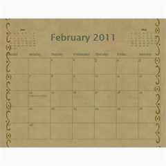 Church Calendar By Jo   Joahn   Wall Calendar 11  X 8 5  (12 Months)   M3sd97gdca9b   Www Artscow Com Feb 2011