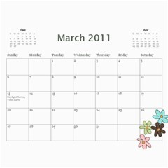 2011 General   Claire Only By Colleen Lansberry   Wall Calendar 11  X 8 5  (12 Months)   D3p3ys9wcyn5   Www Artscow Com Mar 2011