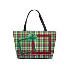 Merry And Bright Handbag 2 By Lisa Minor   Classic Shoulder Handbag   Oj45ckt8jtyd   Www Artscow Com Front
