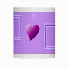 Purple Hearts Mug By Daniela   White Mug   Pfnb1px05v7y   Www Artscow Com Center