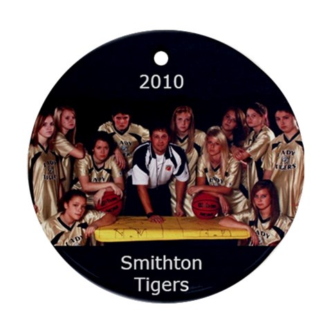 Smithton Ornament By Carolyn Aggeler   Ornament (round)   Kjf1t3awbqo5   Www Artscow Com Front