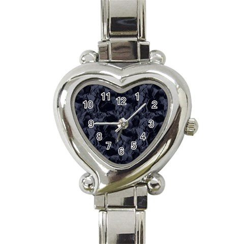 Heart Watch Black By Chere s Creations   Heart Italian Charm Watch   C79vb6nl8u14   Www Artscow Com Front