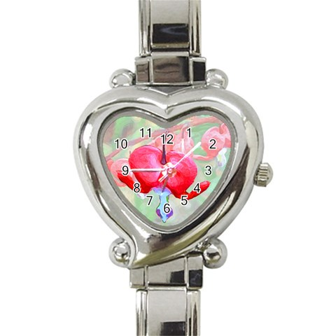 Bleeding Heart Watch By Chere s Creations   Heart Italian Charm Watch   Yp77tufu8r79   Www Artscow Com Front