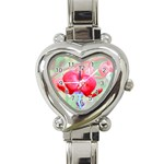 Bleeding Heart Watch - Heart Italian Charm Watch