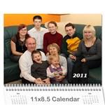Grit_Kalender_2011 - Wall Calendar 11  x 8.5  (12-Months)