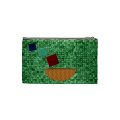 Games We Play Small Cosmetic Bag 1 By Lisa Minor   Cosmetic Bag (small)   Hhx03veuvj12   Www Artscow Com Back