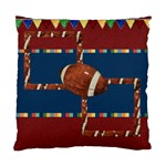 Games We Play Football 2 sided pillow - Cushion Case (Two Sides)